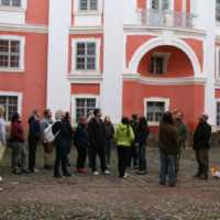 Fotografie z dřívějších exkurzí Katedry na Broumovsku