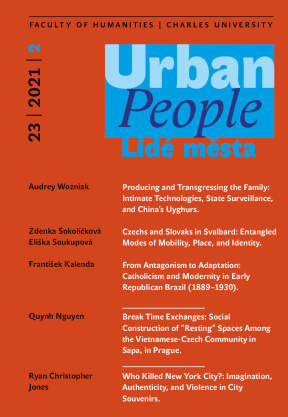 Teacher & student collaboration on an article for Urban People