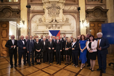 Prof. Petráček was awarded the Silver Medal of the President of the Senate